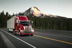 Pictures Western Star Trucks Trucks Driving 2014-18 Western Star 5700XE Sleeper Cab Cars