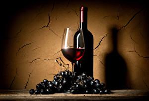 Fotos Wein Weintraube Mauer Weinglas Flasche Lebensmittel