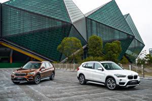 Bilder BMW 2 Metallisch 2016 X1 xDrive25Li xLine Autos