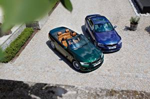 Pictures BMW Two Metallic From above Cabriolet 2017 Alpina B3 S Bi-Turbo Cabrio, Alpina B3 S Bi-Turbo Coupe automobile