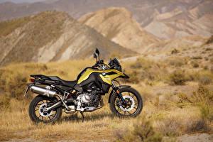 Hintergrundbilder BMW - Motorrad Seitlich 2018 F 750 GS
