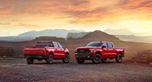 Bilder Chevrolet Pick-up Rot 2 lt-z71 2019 silverado 2019