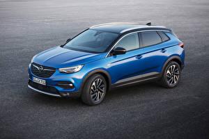Sfondi desktop Opel Celeste colore Metallizzato 2017-18 Grandland X autovettura