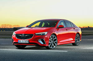 Bilder Opel Rot Metallisch 2017-18 Insignia GSi