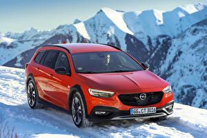 Sfondi desktop Opel Rosso Metallizzato  autovettura