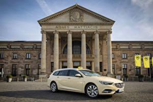 Sfondi desktop Opel Taxi - Auto Metallico 2017-18 Insignia Sports Tourer Taxi automobile