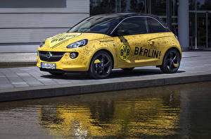 Sfondi desktop Opel Tuning Giallo 2014-15 Adam  1909 powered by Marco Reus automobile