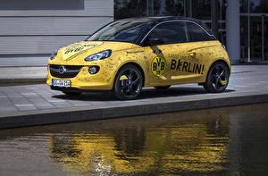 Bilder Opel Fahrzeugtuning Gelb 2014-15 Adam  1909 powered by Marco Reus