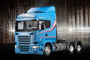 Picture Scania Trucks Light Blue