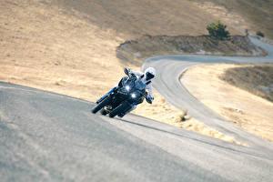 Hintergrundbilder Yamaha Motorradfahrer Bewegung 2018 Niken