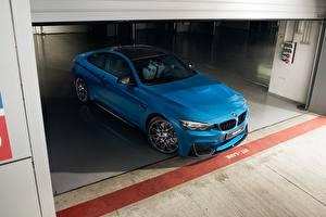 Image BMW Light Blue Coupe F82 Cars