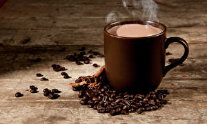 Picture Coffee Boards Cup Grain Vapor
