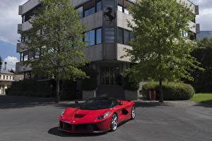 Image Ferrari Red Metallic 2012 LaFerrari Prototipo automobile