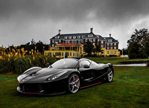 Pictures Ferrari Black Metallic 2016-18 LaFerrari Aperta Worldwide Cars