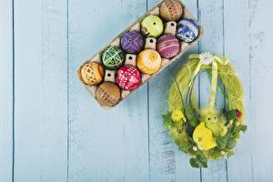Hintergrundbilder Feiertage Ostern Kücken Bretter Ei Design Nest