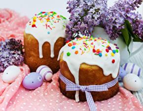 Hintergrundbilder Feiertage Ostern Backware Kulitsch Ei