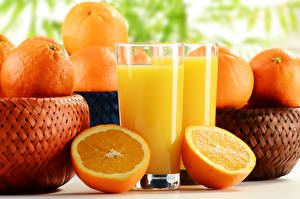 Pictures Juice Orange fruit Mandarine Highball glass Food
