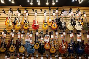 Photo Many Guitar