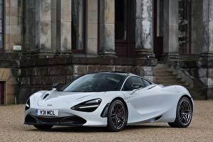 Fondos de escritorio McLaren Gris Metálico 2017-18 720S Coupe Launch Edition autos