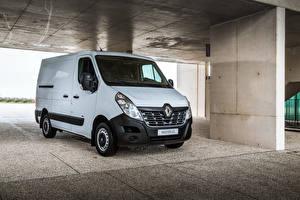 Wallpaper Renault White 2018 Master Z.E. L1H1 Van Worldwide Cars