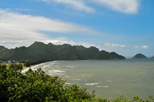 Pictures Thailand Tropics Coast Sea Mountain Phrayanakhon Cave Nature
