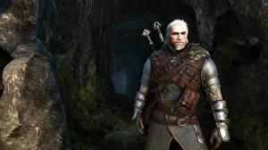 Fotos The Witcher 3: Wild Hunt Geralt von Rivia Krieger Rüstung 3D-Grafik
