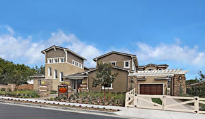 Images USA Houses California Los Angeles Street Mansion Design Garage Fence Cities