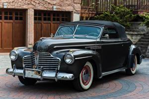 Bilder Buick Antik Grau Metallisch 1941 Special Convertible automobil
