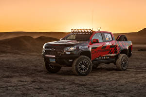 Image Chevrolet Tuning Pickup 2017 Hall Racing Colorado ZR2 Extended Cab automobile