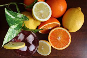 Images Citrus Drinks Lemons Orange fruit Food