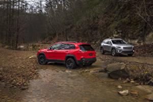 Wallpapers Jeep Two Metallic 2019 Cherokee Cars