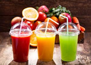 Fotos Saft Obst Trinkglas Drei 3 Lebensmittel