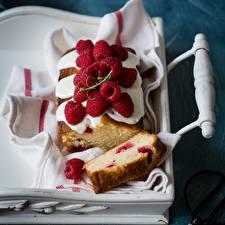Bilder Himbeeren Keks Lebensmittel