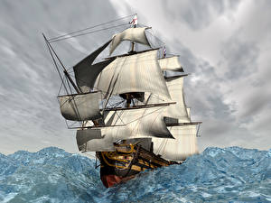 Hintergrundbilder Schiffe Segeln Meer
