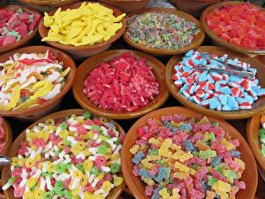 Fotos Süßware Viel Lebensmittel