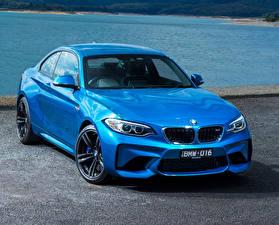 Image BMW Light Blue Metallic 2016 M2 Coupe automobile
