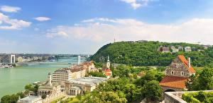 Tapety na pulpit Budapeszt Węgry Rzeki