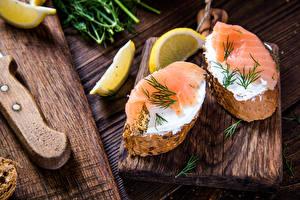 Hintergrundbilder Butterbrot Fische - Lebensmittel Brot Zitrone Lebensmittel