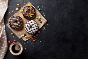 Pictures Coffee Donuts Chocolate Cup