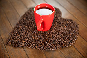 Pictures Coffee Boards Cup Grain Heart Food