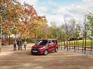 Fotos Ford Bordeauxrot Metallisch 2018 Grand Tourneo Connect Worldwide Autos