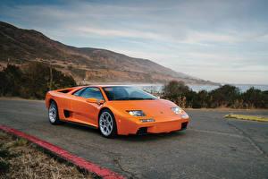 Bilder Lamborghini Antik Orange Metallisch 2000-01 Diablo VT 6