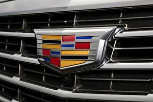 Bilder Logo Emblem Cadillac Hautnah automobil