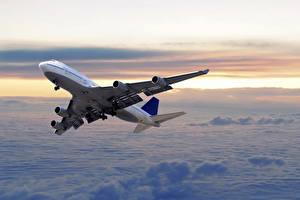 Fotos Flugzeuge Verkehrsflugzeug Flug Luftfahrt