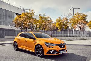 Papel de Parede Desktop Renault Metálico Amarelo  Carros