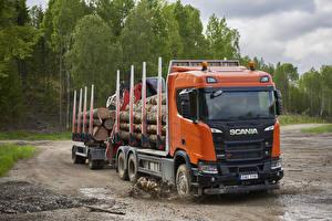 Wallpaper Scania Trucks  auto