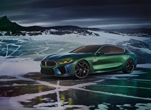 Picture BMW Green 2018 Concept M8 Gran Coupe auto