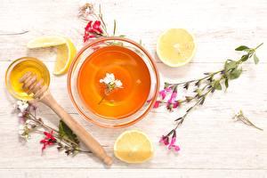 Hintergrundbilder Honig Zitrone