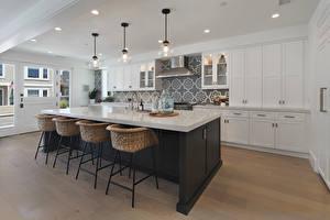 Photo Interior Design Kitchen Table Chair Ceiling