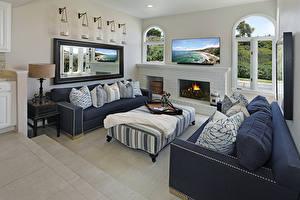 Bilder Innenarchitektur Design Wohnzimmer Sofa Kissen